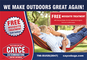 outdoors-great pest control Columbia sc